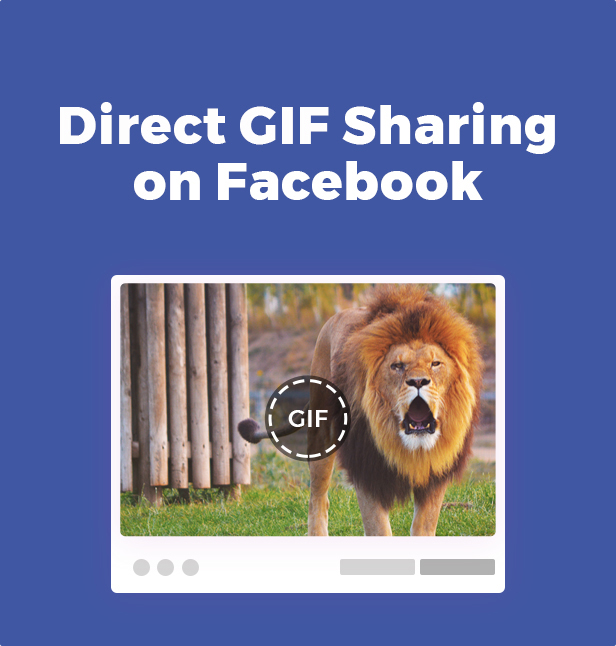 Direct Gif Sharing