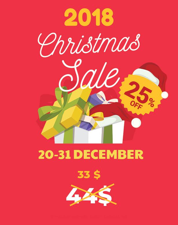 Certy -25% Christmas Sale